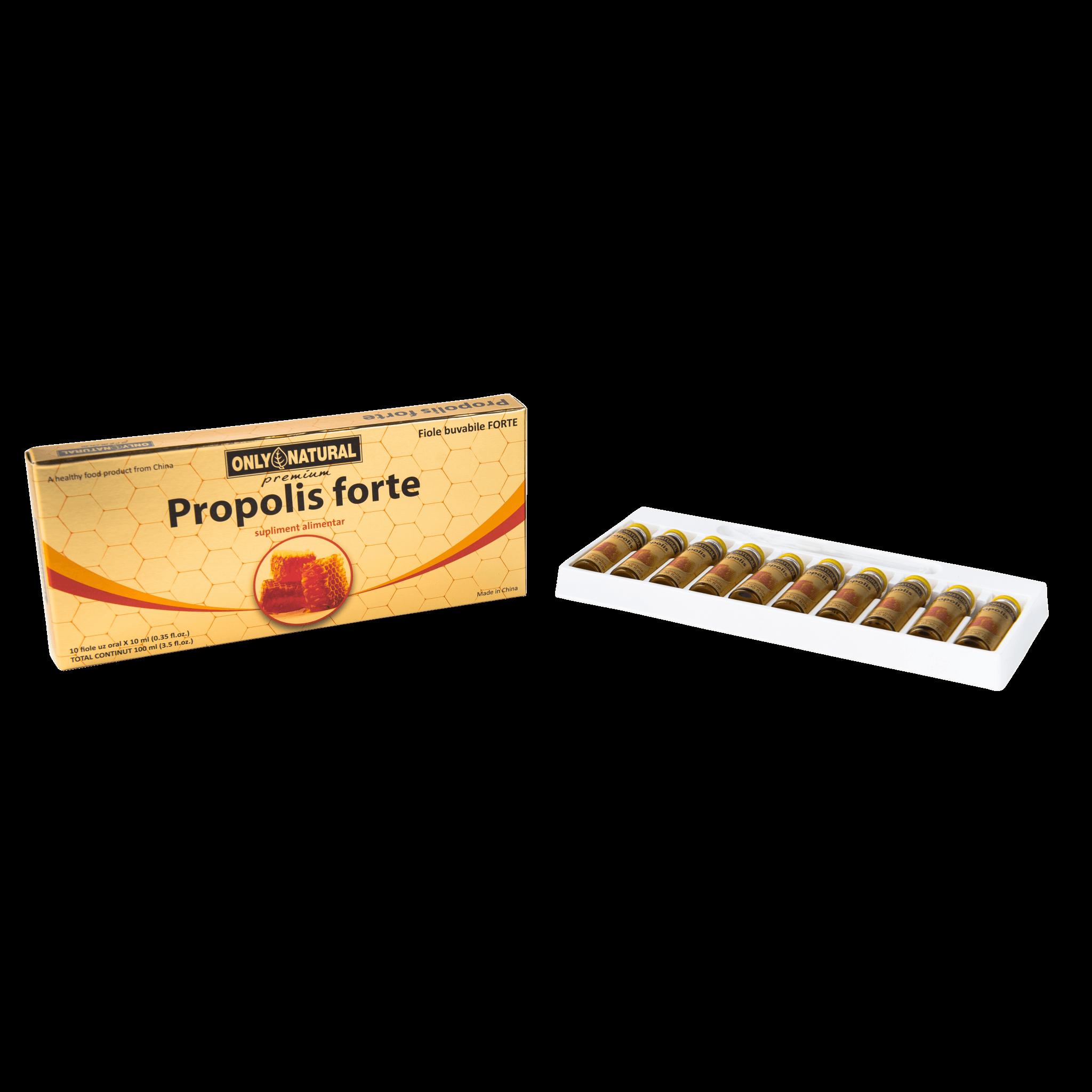 fiole propolis forte pentru imunitate